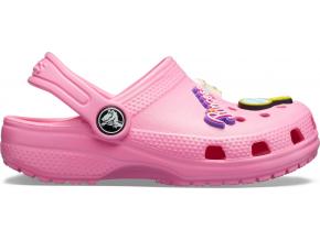 Crocs Classic Charm Clog K Pink Lemonade