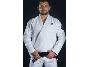Gi kimono BJJ Ground Game PLAYER - BÍLÉ