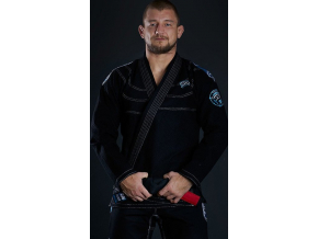 Gi kimono BJJ  Ground Game PLAYER - ČERNÉ