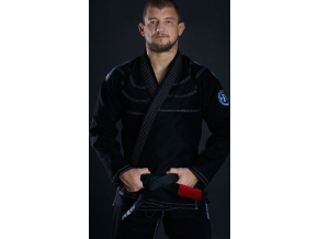 Gi kimono BJJ Ground Game ROOKIE - ČERNÉ