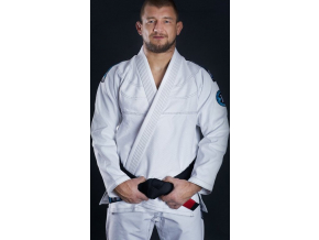 Gi kimono BJJ Ground Game ROOKIE - BÍLÉ