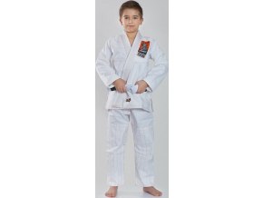 Dětské BJJ kimono / gi Ground Game TENSAI - BÍLÉ