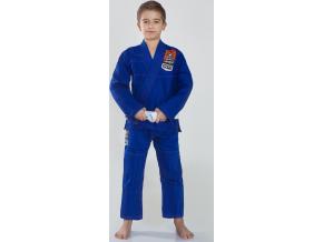 Dětské BJJ kimono / gi Ground Game TENSAI - MODRÉ