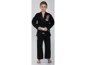 Dětské BJJ kimono / gi Ground Game TENSAI - ČERNÉ