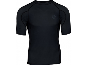 Rashguard - funkční tričko Extreme Hobby ACTIVE  - krátký rukáv - černý
