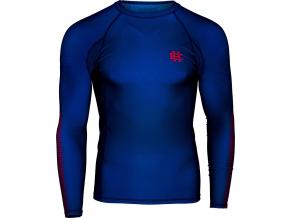 Rashguard - funkční tričko Extreme Hobby ACTIVE - dlouhý rukáv - modrý