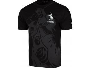 Pánské tričko Extreme Hobby GRIM LAUREN - Černá
