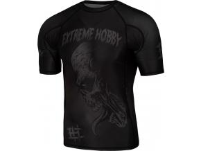 Rashguard - funkční tričko Extreme Hobby NIGHTMARE 2 - krátký rukáv