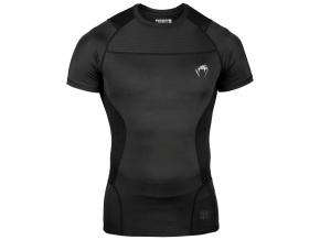 venum 03792 001 rashguard short sleeve kratky rukav g fit black black f1