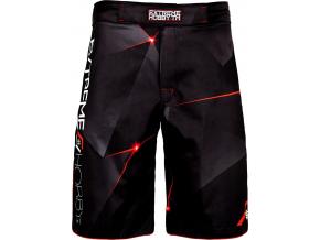 Grappling šortky Extreme Hobby MT SPORT - červené