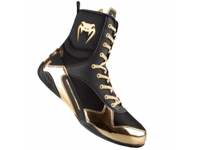 venum 03681 126 boxing shoes boty boxery elite black gold f1