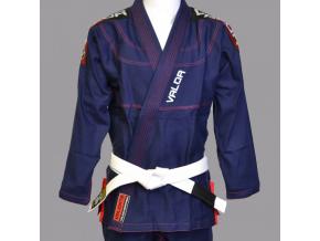 bjj gi kimono valor valente navy f1