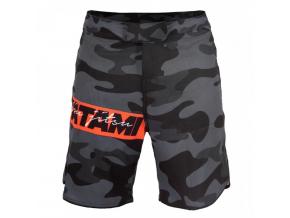 MMA no-gi šortky Tatami Red Bar Camo