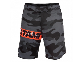 MMA no-gi šortky Tatami Red Bar Camo
