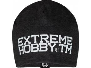 Zimní čepice Extreme Hobby BLOCK - šedá