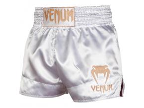 venum 03813 226 short muay thai classic white gold f1