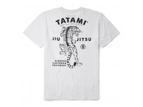 tshirt tatami tiger bjj white bile tricko triko f2