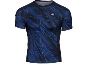 Pánské sportovní tričko Extreme Hobby SHADOW - krátký rukáv - modré