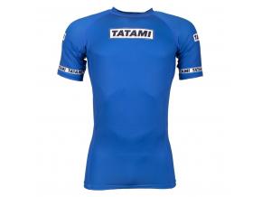 rashguard short blue tatami dweller 3