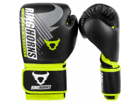 box gloves ringhorns charger mx black yellow 1