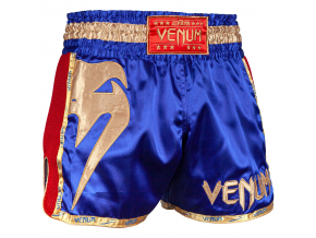 muay thai shorts venum giant navy gold 1