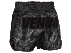muay thai shorts venum devil black black 3