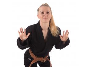 damske kimono classic cerne 1
