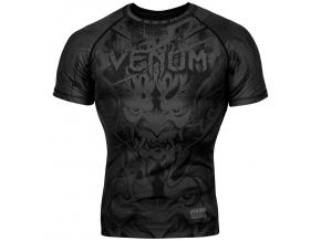 rashguard short venum devil black black 1