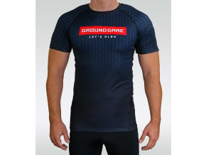 Rashguard Ground Game New Fade - krátký rukáv