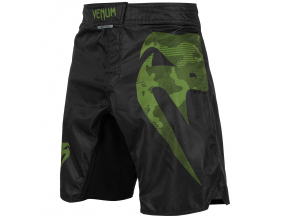 mma shorts venum light 3.0 black khaki 1