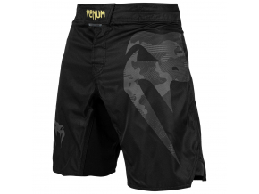 mma shorts venum light 3.0 black gold 1