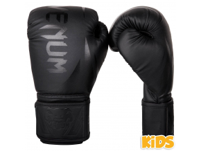 boxerky kids venum challenger 2.0 black black 1