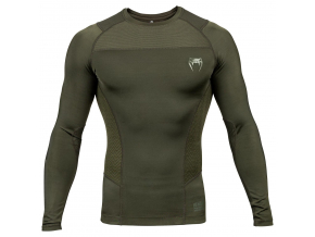 rashguard long venum g fit khaki 1