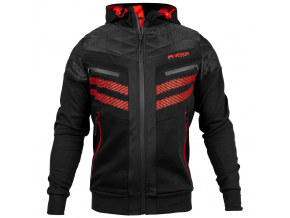 mikina venum laser 2.0 black red 1