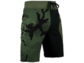 shorts cotton venum assault khaki black 1