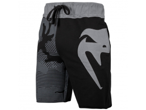 shorts cotton venum assault black grey 1