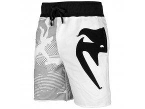 shorts cotton venum assault white black 1