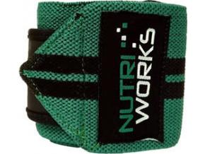 NutriWorks Omotávky zápěstí zeleno černé