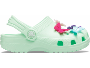 Crocs Classic Butterfly Charm Clg PS Neo Mint