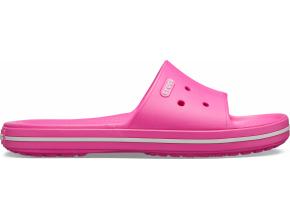 Crocs Crocband III Slide - Electric Pink/White