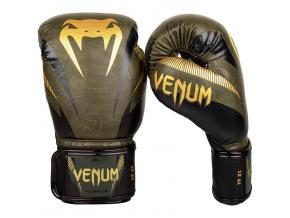 boxerky venum impact khaki gold 2