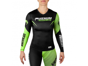 damsky rashguard long venum training camp 2.0 black neoyellow 1