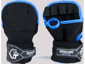 Gélové rukavice Ground Game ČERNÉ