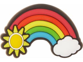 Crocs Odznáček Jibbitz - LED Rainbow