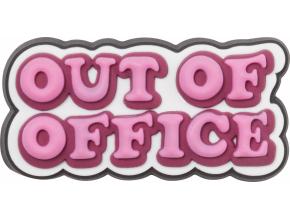 Crocs Odznáček Jibbitz - Out of Office