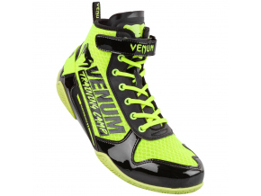 boxing shoes venum giant vtc2 neoyellow black 1