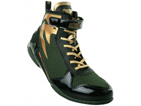boxing shoes venum giant linares khaki black gold 1