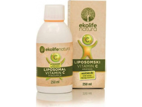 Ekolife Natura Liposomal Vitamin C 750mg 250 ml