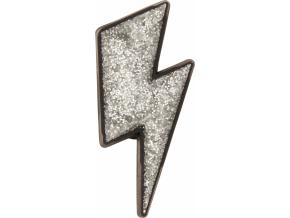 Crocs Odznáček Jibbitz - Silver Lightning Bolt