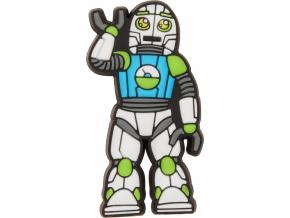 Crocs Odznáček Jibbitz - Robot Man